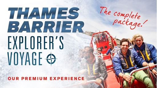 Picture of Thames Barrier Explorers Voyage (80 mins)