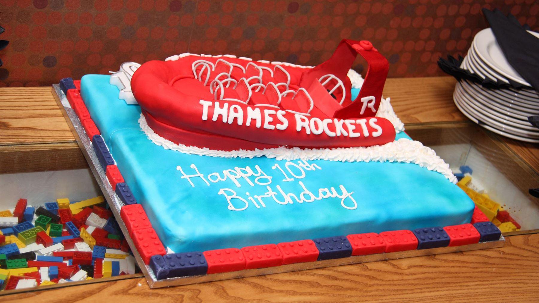 We've Been Spoilt - Thames Rockets Gifts!