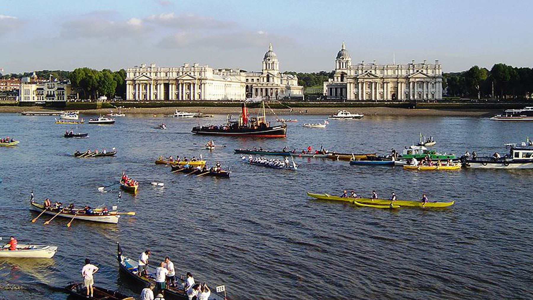 Have you heard of London's river marathon...?