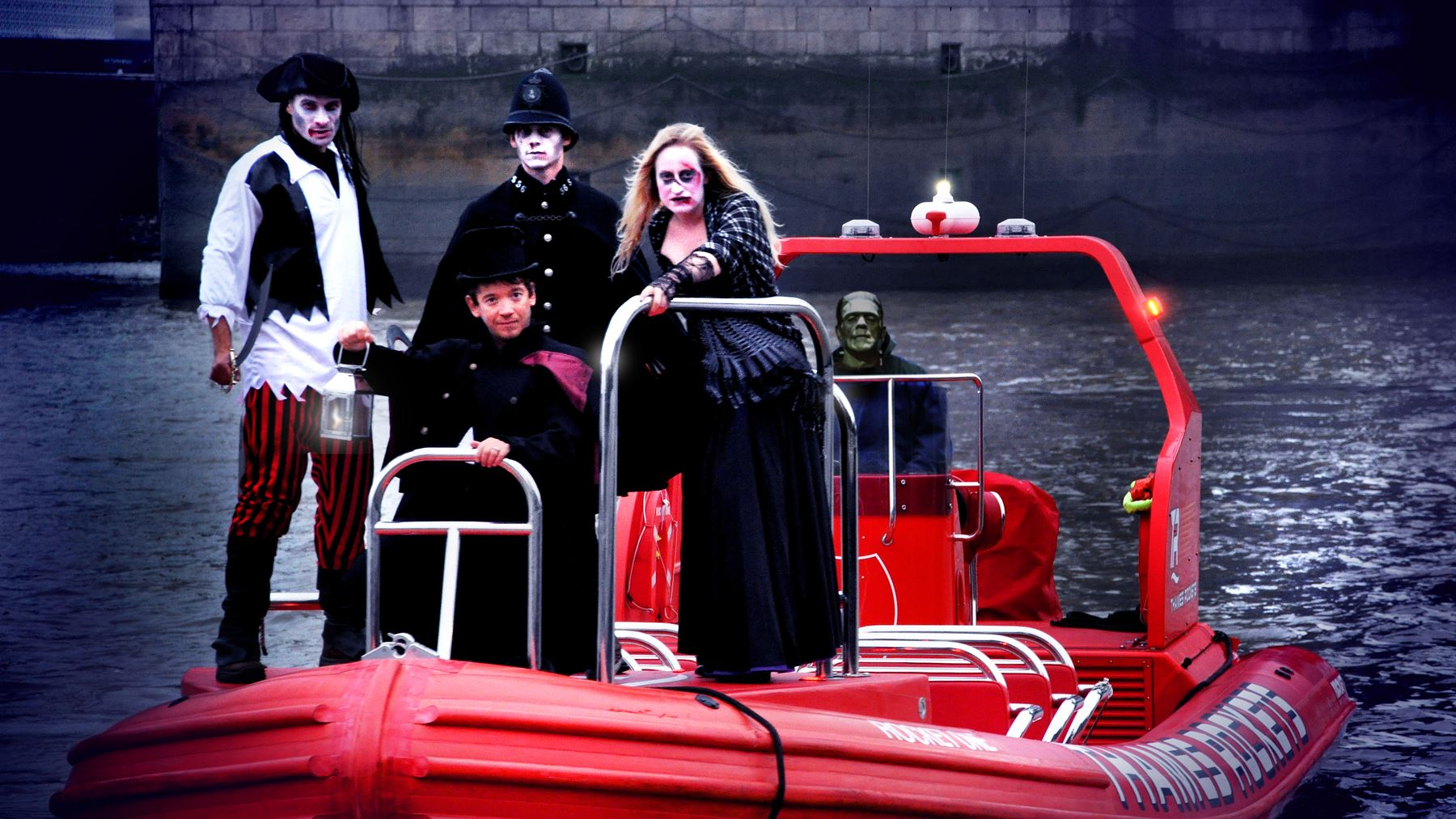 Ready for the best Thames Rockets Halloween in London?