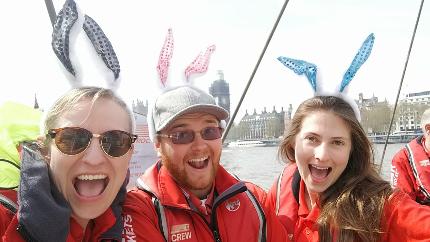 Thames Rockets Easter Fun