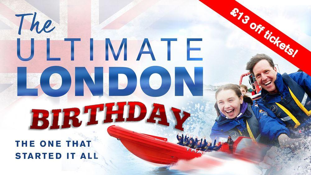 Thames Rockets London Birthday
