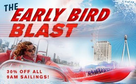 Picture of Early Bird Blast (50 mins) 30% OFF 9am SAILINGS