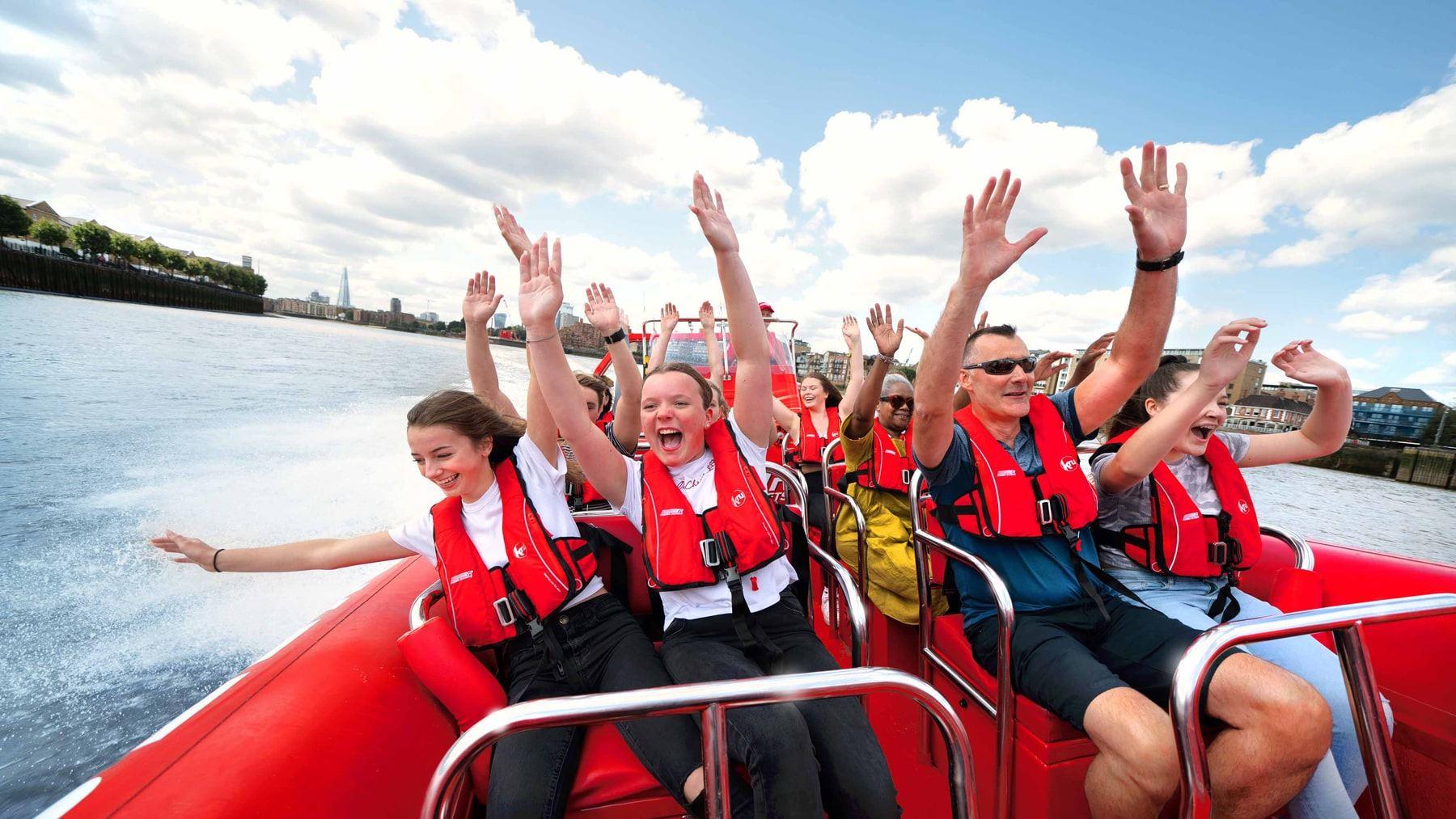London's best and biggest speedboat voucher sale