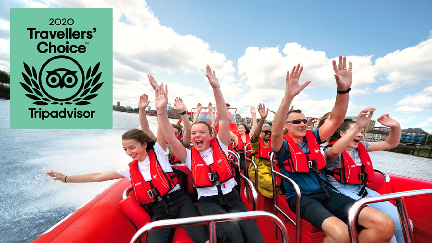 Thames Rockets Named in Top 10% of Attractions Worldwide!