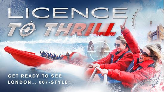 Thames Rockets Licence to Thrill Image