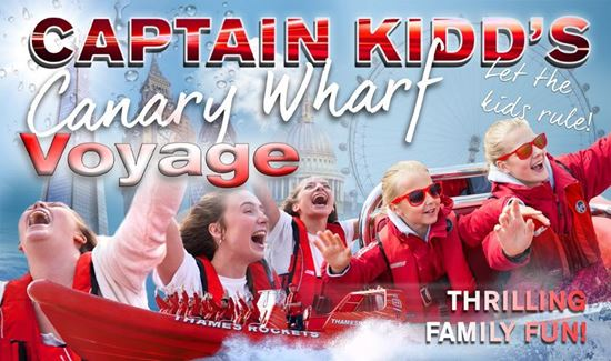 Thames Rockets Captain Kidd's Canary Wharf Voyage Experience Image