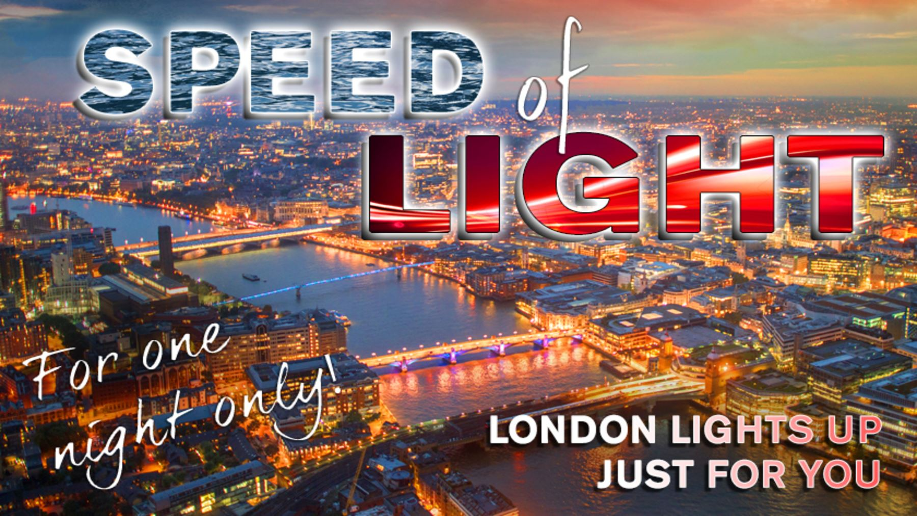 Introducing Thames Rockets SPEED OF LIGHT!